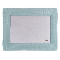 Baby's Only Boxkleed Sun Mint met Stonegreen (85x100)