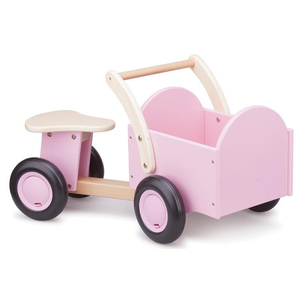 New Classic Toys Houten Bakfiets Roze