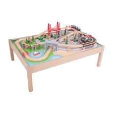 BigJigs City Trein tafel