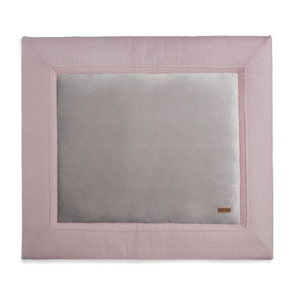 Baby's Only Boxkleed Sparkle Zilver-roze Melee (75x95)