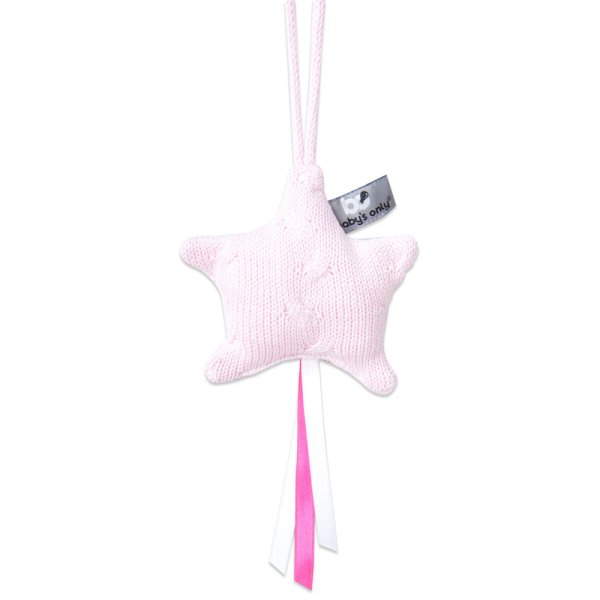 Baby's Only Decoratiester Cable Baby Roze