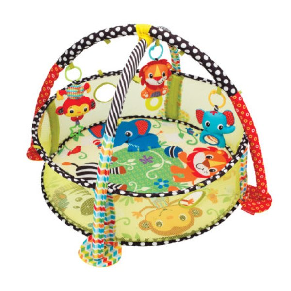 Infantino Speelkleed Grow With me Activity gym en Ball Pit