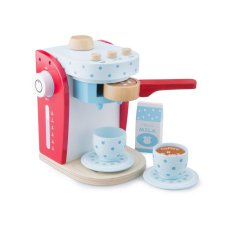 New Classic Toys Koffiezetter Rood met Blauw