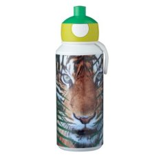 Mepal Drinkfles Campus Pop-Up 400 ml Animal Planet Tijger Groen