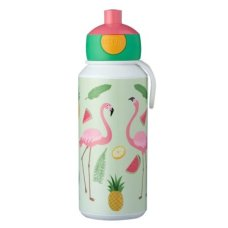 Mepal Drinkfles Campus Pop-Up 400 ml Tropical Flamingo