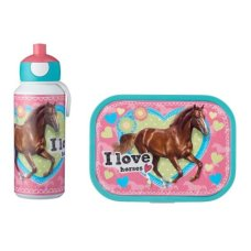 Drinkfles en Lunchbox Campus My Horse