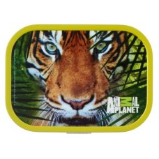 Lunchbox Campus Midi Animal Planet Tijger Groen