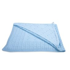 Baby's Only Omslagdoek Cable Baby Blauw