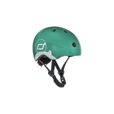 Scoot and Ride Helm met Reflectie XS Forest